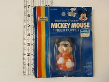 New listing Vtg Mickey Mouse Finger Puppet Walt Disney Character Gabriel 5699 Toy Band Nip