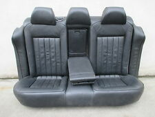 W8 Rücksitzbank VW Passat 3BG Limousine Rückbank LEDER schwarz Ausstattung