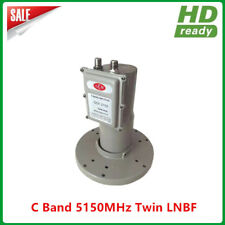Digital Ready LNB C band 2 output Twin LNBF with L.O Frequency 5150MHZ
