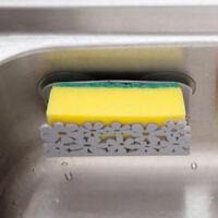 Kitchen Sink Sponge Holder Clip Bathroom Hanging Sink Organizer Storage Rack
