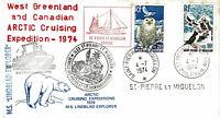 Polarpost: LINDBLAD EXPLORER - ST. PIERRE ET MIQUELON - 1974