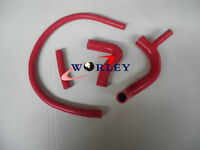 RADIATOR HOSE red For AUSTIN/ROVER MINI COOPER S 1275 GT CLUBMAN 1960-1990
