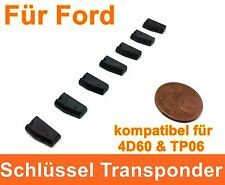 Car Key Transponder for Ford Compatible for 4 D 60 & TP06 Chip IMMOBILISER