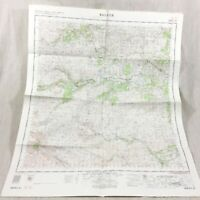1963 Vintage Military Map of Ballater Scotland Aberdeenshire Scottish Highlands