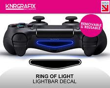 KNR2294 RING OF LIGHT | Dualshock 4 PS4 Lightbar Light Bar Decal DS4