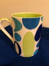 Whittard of Chelsea Coffee Tea Cup Mug BNWOT New Prefect Spotted Circles