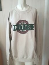 "Men's ""Pitts Irish Pub Spirits"" Gildan Lined Sweatshirt Large Long Sleeve NEW"