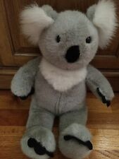 "Build a Bear Workshop KOALA grey gray white plush stuffed animal 16"" BABW"