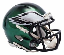 NFL Philadelphia Eagles Chrome Alternate Speed Mini Helmet Unisex Fanatics