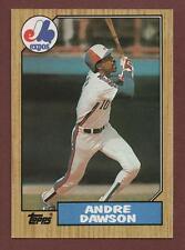 1987 Topps #345 Andre Dawson Montreal Expos HOF Baseball Card NM/MT+