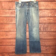 7 Seven for All Mankind Womens Denim Bootcut Jeans Size 32x30 65199