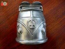 A VW CAMPER BEER BUDDIES BOTTLE OPENER, T1 T2 T25 T4 T5 T6 Bay, Split, Silver