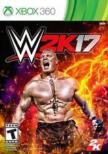 WWE 2K17 (Microsoft Xbox 360, 2016) BRAND NEW