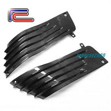 RC Carbon Fiber Tank Side Fairings KAWASAKI Ninja ZX-14 ZZR 06 07 08 09 10 11