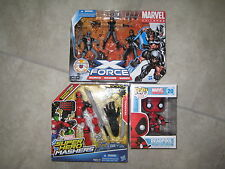 Deadpool Action Figure lot Marvel Universe X-Force Funko Pop 20 Super Hero Movie