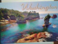 BEAUTIFUL NEW POST CARD  AERIAL VIEW NEAH  BAY WASHINGTON