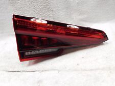 2016 2017 Audi 16 17 A4 TRUNK INNER LEFT TAIL LIGHT P/N 8W5945093A OEM A375