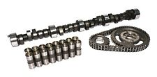 COMP CAMS HYD FLAT CAMSHAFT DUR 292/292 LIFT .501/.501 LIFTERS TIMING CHAIN SET