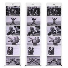 3 x Fotovorhang Raumteiler 67,5 x 15,5 cm für 6 Fotos 10 x 15 cm im Querformat