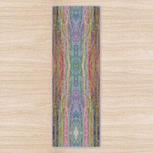 Chakra Mandala Om Yoga Mat. High Quality UK Design Padded + Non-Slip rubber base
