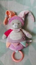 DOUDOU  MUSICAL BABY NAT' CHAT COLLECTION NINO & NINA COMME NEUF