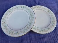 Noritake Savannah (2) BREAD PLATEs LOT of TWO -have more items to set