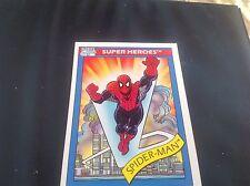 1990 Impel Marvel Comics Super Heroes #30 Cosmic Spider-man Card Free Ship