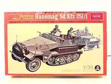 Nitto 1:35 Scale German Half-Track Hanomag Sd.Kfz 251/1 Motorized Model Kit #158