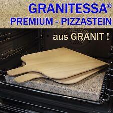 GRANITESSA PIZZASTEIN - aus GRANIT ! ( 36 x 30 x 3 cm ) mit 2 PIZZASCHAUFELN