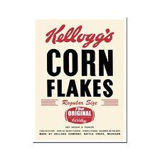 Kelloggs Corn Flakes Logo Kühlschrankmagnet Fridge Refrigerator Magnet 6 x 8 cm