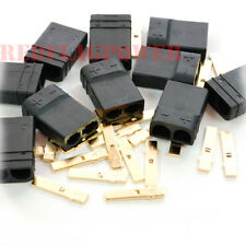 10 female Traxxas trx type high current plug connector for lipo battery ESC