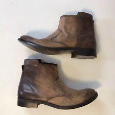 Diesel Men's Fashion Distressed Ankle Boots Shoes Leather Shoes Sz. 43 US 10