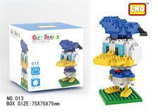 Disney Donald Duck LNO BLOCK Micro Mini Building Nano Block LOZ Iblock Toy Gift