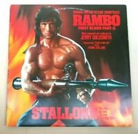 Jerry Goldsmith - Rambo First Blood Part II - 1985 Aussie LP Picture Soundtrack