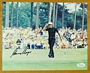 Gary Player Signed 8x10 Golf Photo with JSA COA