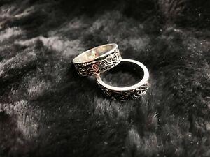 Viking Celtic Pattern Nordic Wolf Ring Size 12 - UK Seller