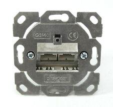 Hager tehalit Datenanschlussdose 2-fach | G3140 | 207829 | NEU in OVP