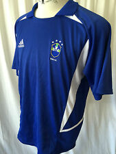 Adidas Brazilian Football Confederation Jersey Shirt Mens Embroidered CBF Sz XL