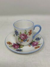 Shelley Rose Bouquet Miniature Cup & Saucer 13865
