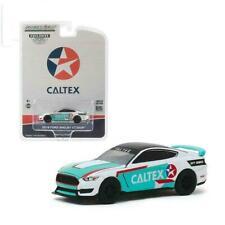 """2019 FORD MUSTANG SHELBY GT350R """"CALTEX"""" 1/64 DIECAST MODEL CAR GREENLIGHT 30133"""