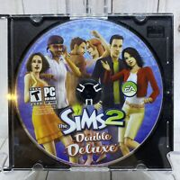 The Sims 2 Double Deluxe PC DVD ROM Disc Only Windows XP Retro Gaming Tested