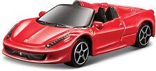 Ferrari 458 Araignée rouge échelle 1:64 par bburago