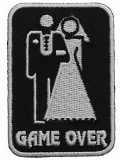 Game Over Wedding Couple Patch IVAN2405 F1D1B