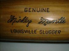 "Old MICKEY MANTLE Bat 36"" Vintage Louisville Slugger Hillerich Bradsby Ny YANKEE"
