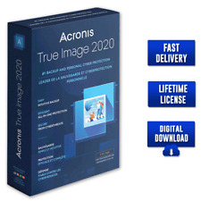 Acronis True Image 2020 ✅ Full version 🔐 Lifetime License  ✅ Fast Delivery ⚡