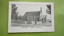 EARLY 1900s SOUTH AUSTRALIAN POSTCARD, KAPUNDA VIEW OF THE METHODIST CHURCH