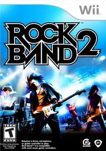 Rock Band 2 - Nintendo  Wii Game