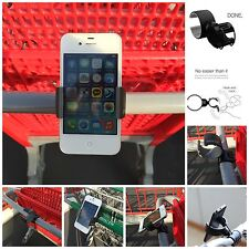 Ppyple Smartphone, iPhone Mount for Shopping Cart Baby Stroller, Bike Mount