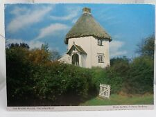 Vintage Postcard The Round House Finchingfield