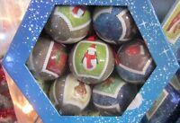 Scatola Assortita 14 Sfere palline vintage 75 mm palle natalizie Natale albero